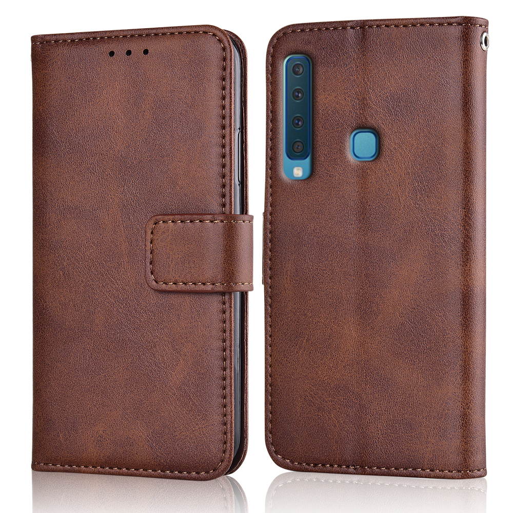 A9 2018 Case Slim Leather Flip Cover for Samsung Galaxy A9 2018 A920 A920F SM-A920F  Case Wallet Magnetic case for Samsung A9S