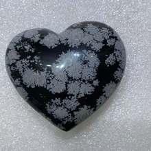 Natural snowflake obsidian crystal love aura healing home decoration room decoration energy gem gift