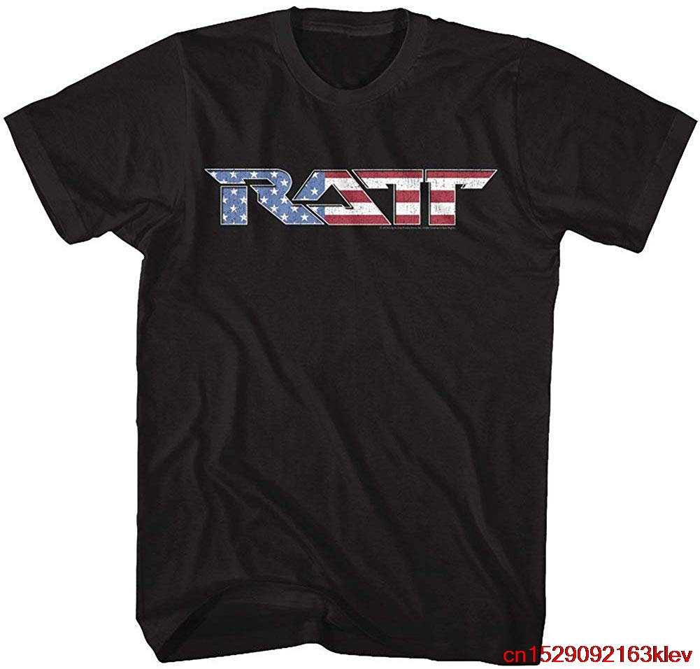 RATT American Glam Metal Band Mean Rat Soundboard Adult 3//4 Sleeve T-Shirt Tee