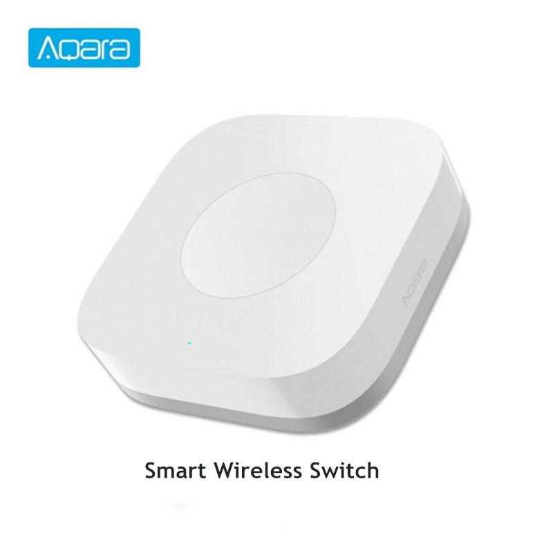 Aqara Smart Wireless Switch Smart Remote One Key Control Aqara Intelligent Application Home Security APP Control|Building Automation| |  - title=