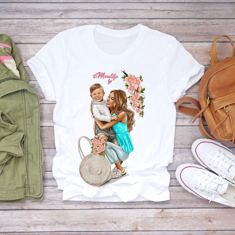 Купить топ футболка для женщин женская с графическим рисунком 2020