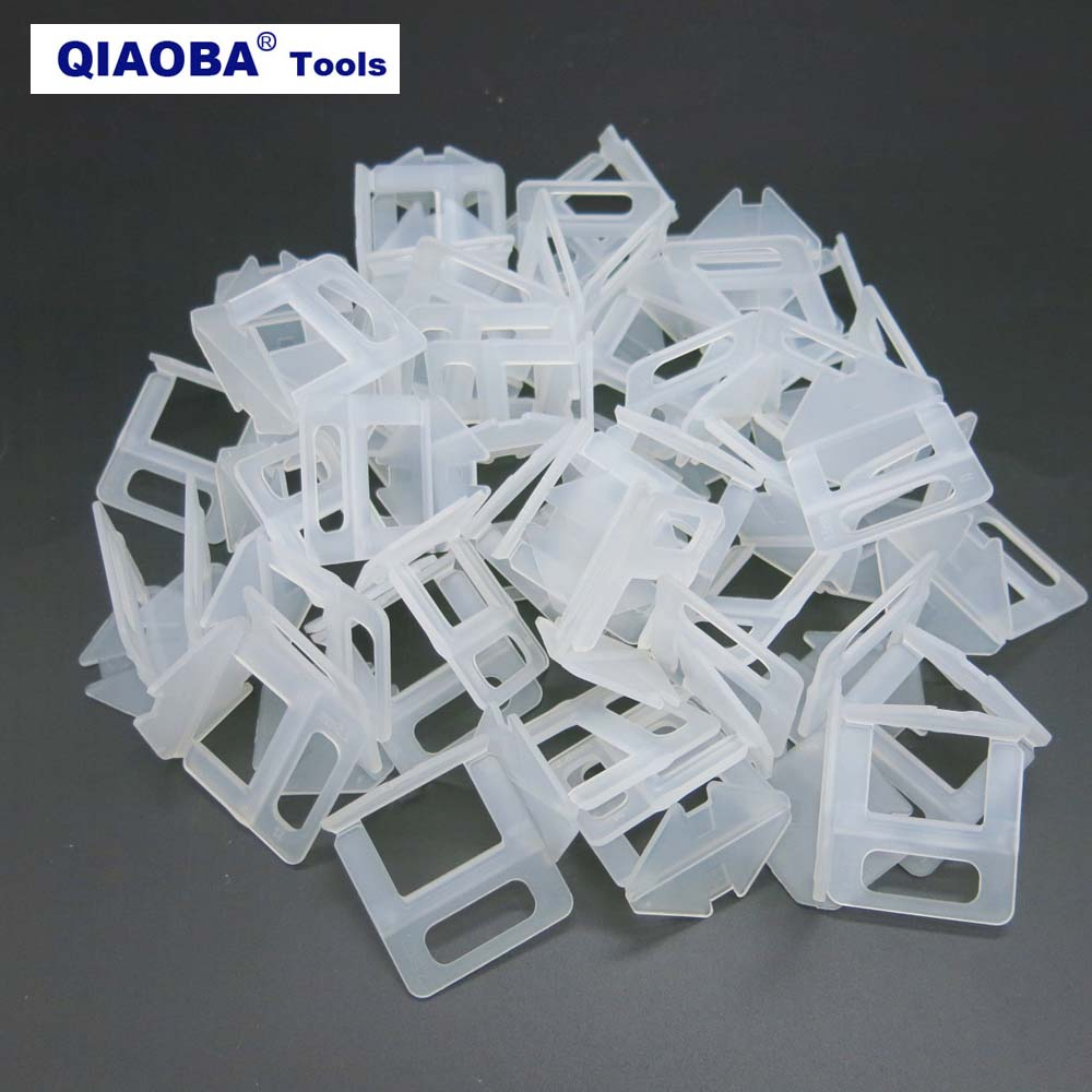 Tile Leveling System 401pcs  2.5mm 300pcs Clips+100pcs Wedges +1piece Plier Plastic Tiling Tools Tile Spacer Tools