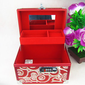 Image 2 - Jewelry Box High grade Metal 2020 New with High Quality Lock for Wedding Souvenir