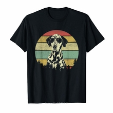 T-Shirt Dalmatian Women Funny Female Girl Vintage Lover for Summer Tees Gift Mom Dog-Dad