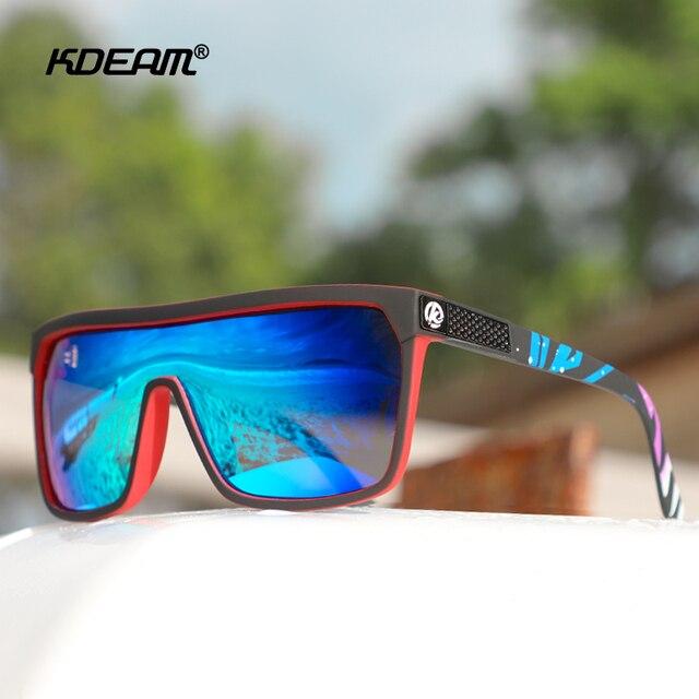 One-piece Shape Men & Women Sunglasses Polarized Elastic Paint Surface Sun Glasses Suitable Long-lasting Goggles Cat.3 2