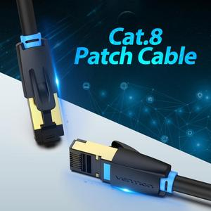 Vention Cat8 Ethernet Cable RJ 45 Network Cable UTP Lan Cable Cat 8 RJ45 Patch Cord 10m/20m/30m for Router Laptop Cable Ethernet(China)