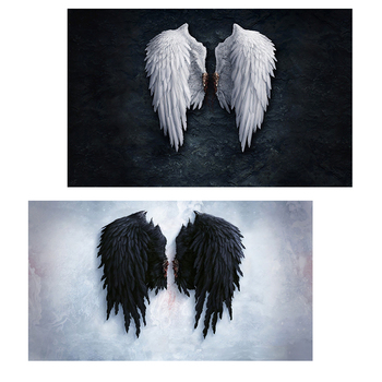 Angel Wings Wall Art Canvas Posters Prints Angel Feather Wings Paintings On The Wall Pictures For Living Room Decor