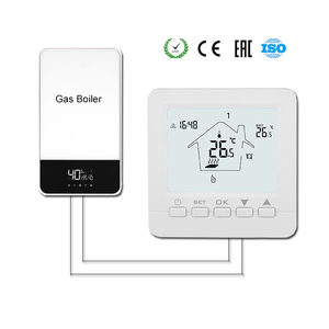 Gas Boiler Thermostat Floor Heating Temperature Controller Digital Weekly Programmable Thermoregulator with AA Battery(China)