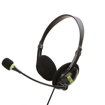 3.5mm Headset with Microphone Noise Cancelling Computer PC Headsets Lightweight Wired Headphones Hifi Headphone Gaming Headset цена 2017