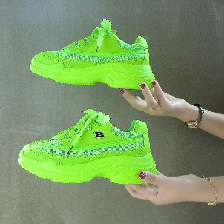 Candy-Colored Fashion Chunky Sneakers 7
