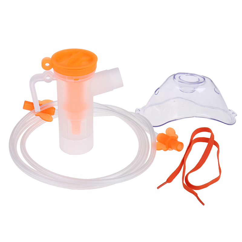 Inhaler Set Adult Children Mask Filters Family Nebulizer Cup Catheter Compressor Nebulizer Accessories Smooth Breathing