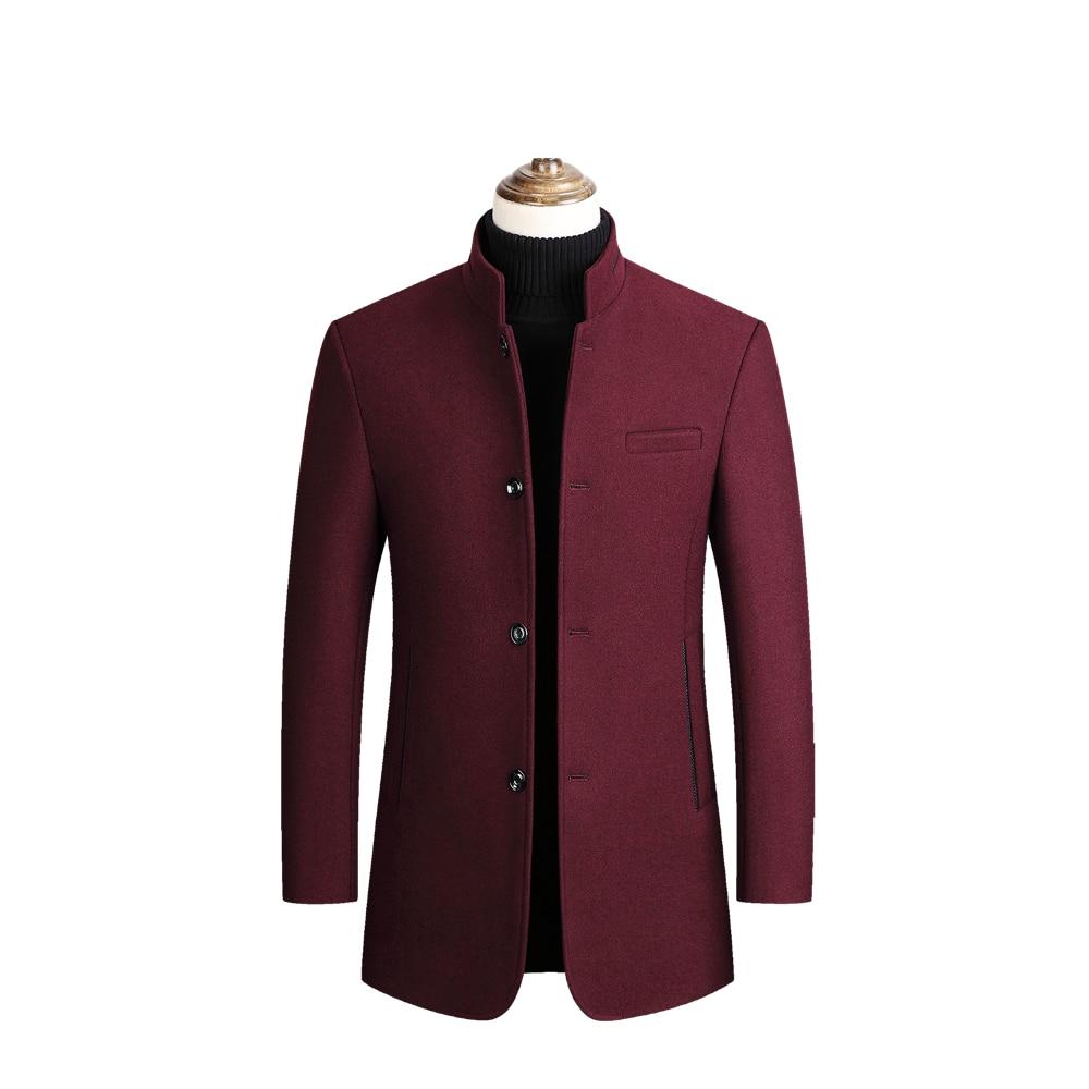 Men's Tweed Coat,Men's Trench Coat Jacket,Middle-aged Dad's Coat,collar Tweed Coat,Middle-aged and Old Wool Coat,Tweed Coat Men