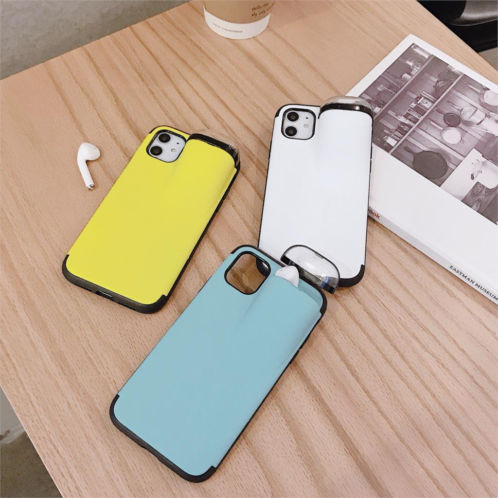 2 in1 AirPods IPhone Case-For Iphone Protective