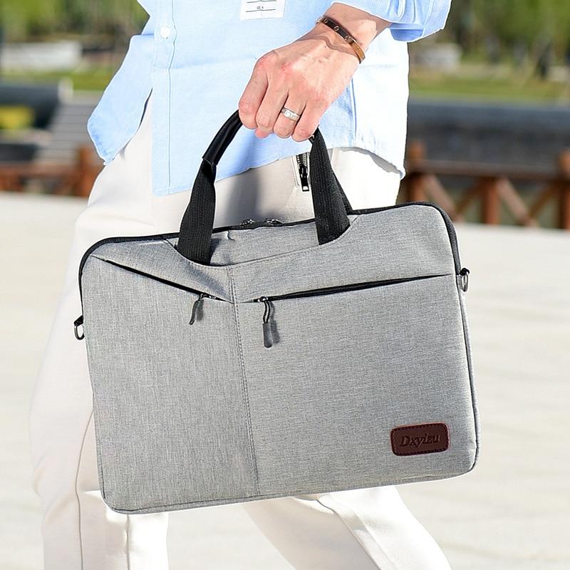 New Men's Business Briefcase Simple Casual Cross Body Bag Men's Bag 14 Inch Laptop Bag Ladies Commuter Bag