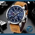 BENYAR 2020 новые синие мужские часы лучший бренд класса люкс водонепроницаемые спортивные кварцевые часы с хронографом военные часы мужские ча...