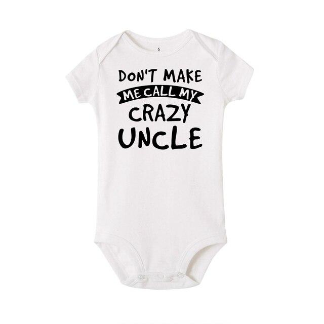 Crazy Uncle Onesie 3