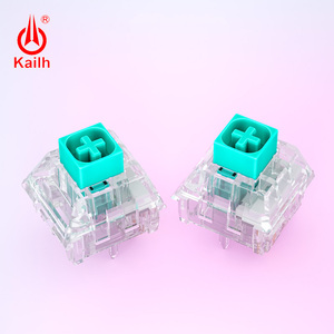 Image 2 - 10 قطعة kailh كريستال صندوق التبديل برو لوحة المفاتيح الميكانيكية لتقوم بها بنفسك RGB/SMD اللمس التبديل الغبار مقاوم للماء متوافق الكرز MX