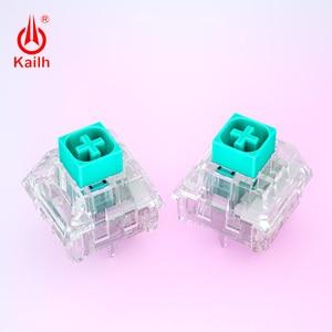 Image 2 - Механическая клавиатура kailh Crystal box Switch Pro «сделай сам», тактильный переключатель RGB/SMD, пылезащитный, водонепроницаемый, совместим с Cherry MX, 10 шт.