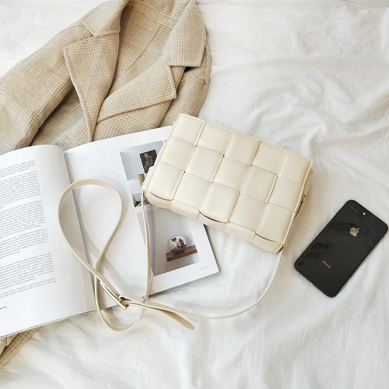 designer bolsa de luxo pequena xadrez couro
