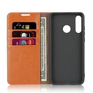 Image 3 - Natuurlijke Lederen Skin Flip Wallet Boek Telefoon Case Op Voor Huawei Honor 20 S 20 S Honor20s 2019 Global MAR LX1H 4/6 128 Gb