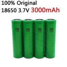4 pçs 100% original 3.7v 3000 mah li ion recarregável 18650 bateria para us18650 vtc6 20a 3000 mah para sony brinquedos ferramentas lanterna