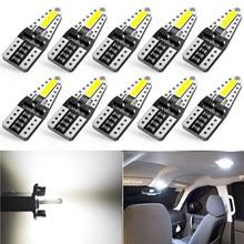 AUXITO – lampe de voiture pour Skoda Octavia 2 A7 A5, accoudoir ii Fabia Rapid Superb 1 2 3 Yeti felichia Rs, Canbus 194, W5W T10, 10 pièces