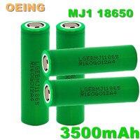 100% nuova Batteria 18650 3.7v 3500mah INR18650 LG MJ1 1865 10A scarica per Batteria ricaricabile agli ioni di litio LG