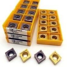 Carboneto ccmt120404 ccmt120408 vp15tf ue6020 metal ferramentas de gerencio cnc ferramenta torneamento inserção ccmt 120408 ferramenta de corte