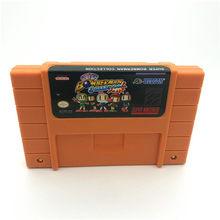 Suporte salvar! Super boman 1 2 3 4 5 coleção 5 in1 eua-ntsc versão 16 bit 46 pinos jogos de vídeo!