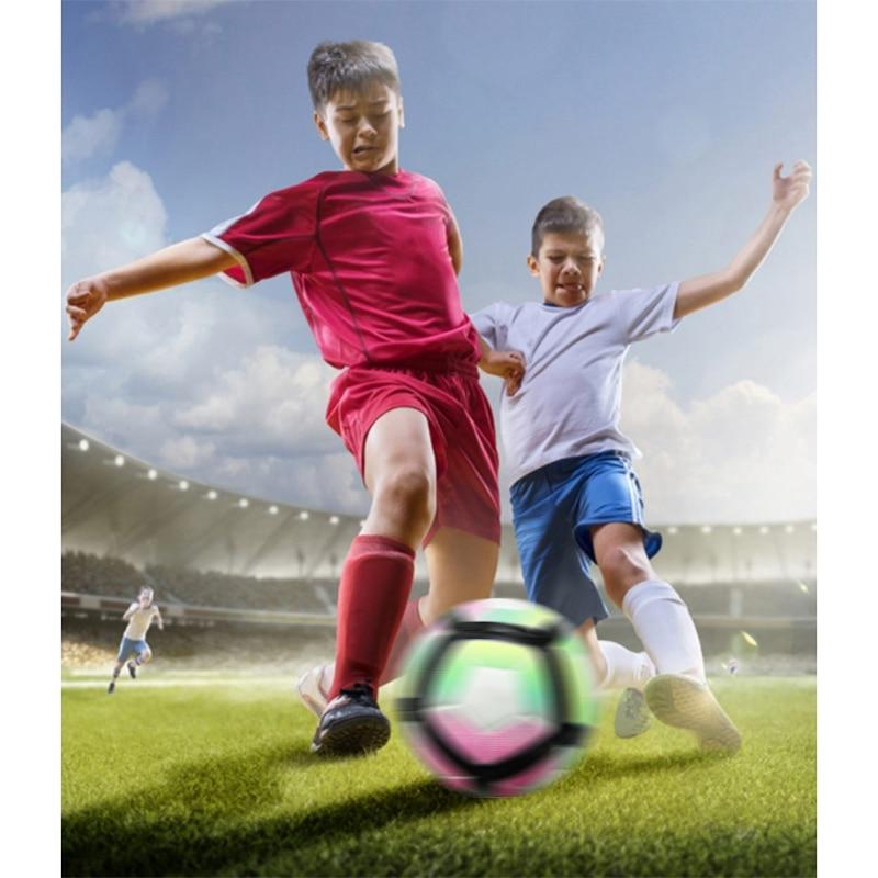 Outdoor Soccer Ball Official Size 5 Football Ball PU Slip-Resistant Seamless Match Training Football Soccer