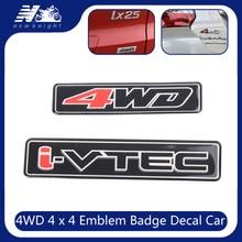 VTEC I-VTEC 3D Sticker For Honda Civic Accord Odyssey Spirior CRV SUV I - VTEC Logo Metal Car Styling Emblem Tail Body Badge