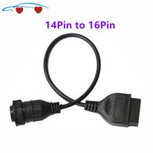 For Ms For BZ Sprinter For V-W LT Van 14Pin to 16Pin OBD2 Adaptor Cable Hot sale