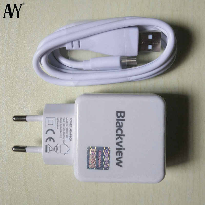 AVY Power Adapter สำหรับ Blackview เดิม A80 Pro BV9800 Pro BV9900 Pro EU Travel Charger ปลั๊ก USB Type C