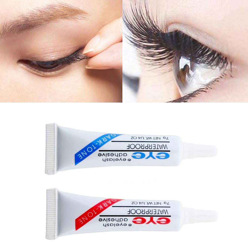 Waterproof False Eyelashes Glue Makeup Adhesive Eye Lash Glue Clear White Lady DX Makeup Tools