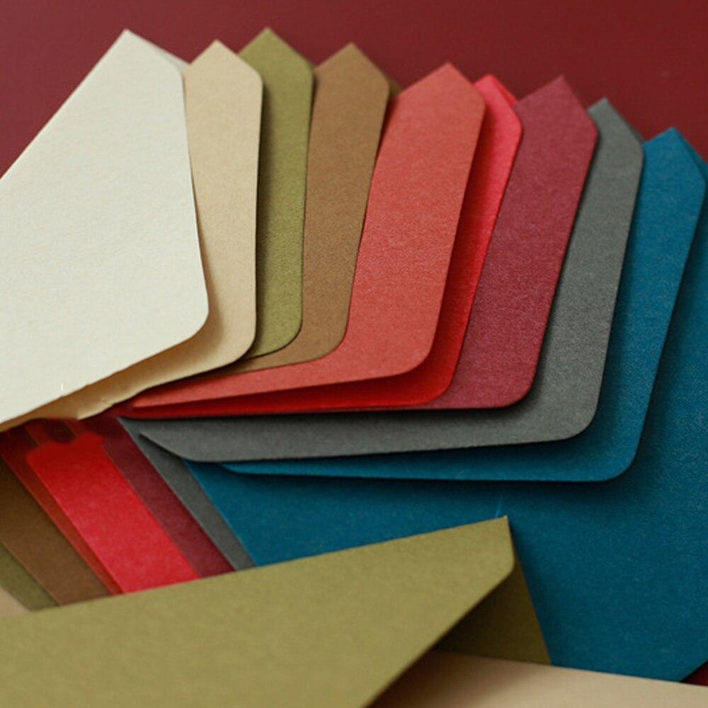 Винтаж в западном стиле конверты чистый лист бумаги Новый 50 шт./лот кошелек для свадебного приглашения хранение фотографий 119 мм X162mm
