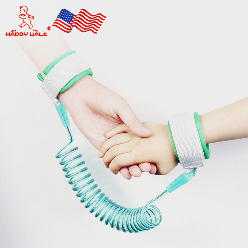 Happywalk Children's Walking Wing Hand Holding Rope Baby Safety Harness Kids Anti-Lost Bracelet Walking Baby Useful Product