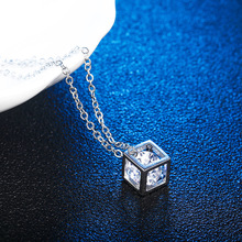 2019 Chain Necklace Necklaces Collar Kettingen Chains Zircon Crystal Pendant Fashion Individual Ladys Clavicle