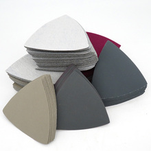 Sanding-Disc Sandpaper Triangle Grit 90x90x90mm Polishing-Tools Hook-Loop Flocking Abrasive