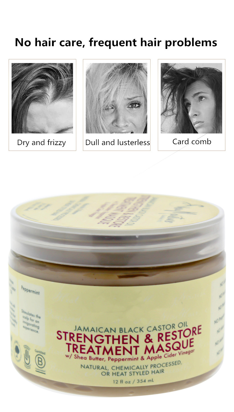 354ml para todo tipo de cabello queratina tratamiento para el cuero cabelludo y el cabello