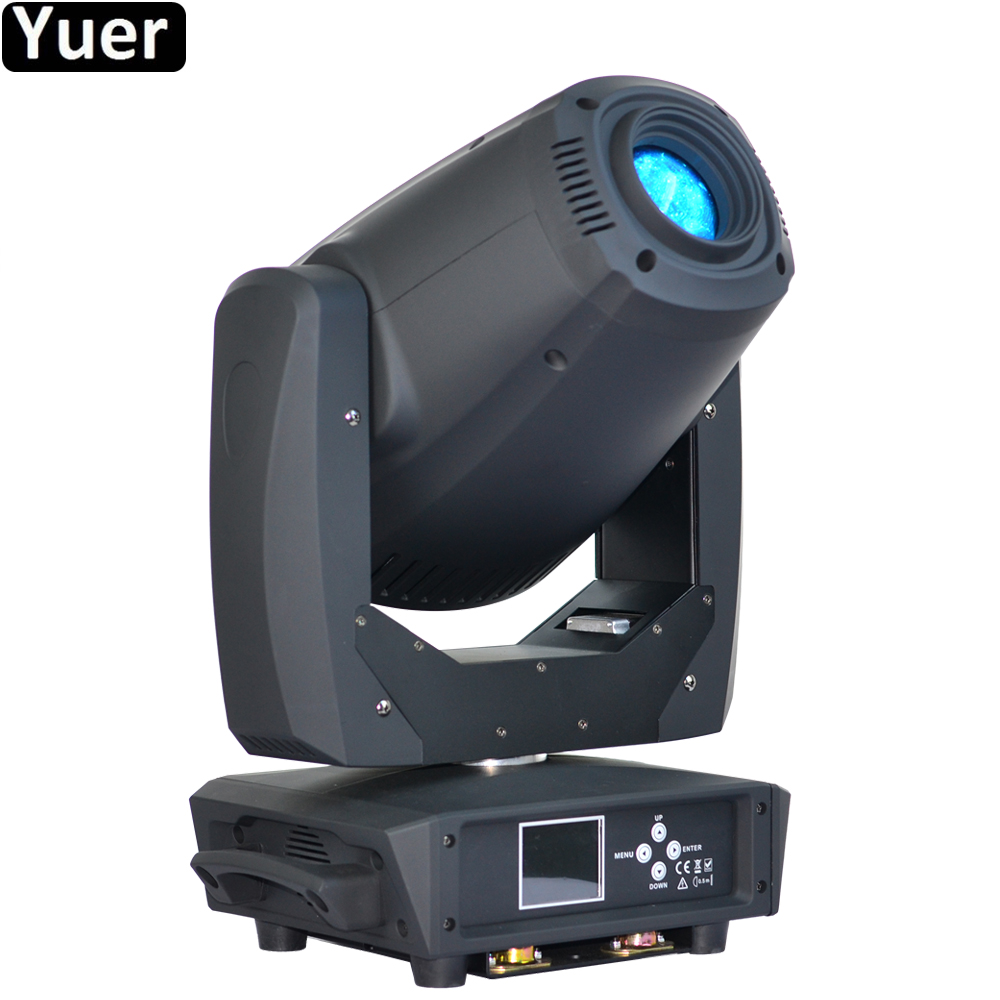 New Disco Light 260W LED Spot Zoom Moving Head Light  DMX512 Sound Beam Spot Wash 3IN1 Stage Effect Lighting DJ Party Equipment