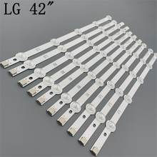 "LED TV Illumination Part For LG 42LN542V 42LN541V 42LN541U LED Bars Backlight Strips Line Ruler 42"" ROW2.1 Rev 0.01 L1 R1 R2 L2(China)"