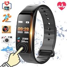 купить Fitness Bracelet Waterproof Smart Band Heart Rate Monitor Health Watch bracelet Wristband Fitness Tracker Sports Smartband  ip67 по цене 583.58 рублей