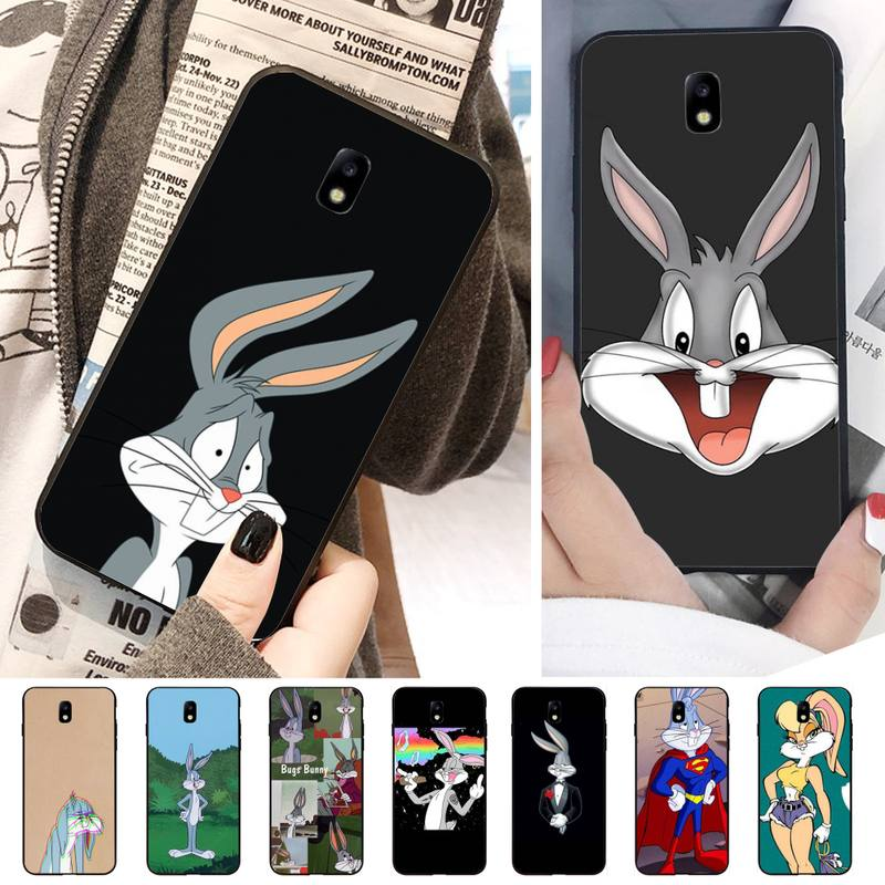 Rabbit Customer Phone <font><b>Case</b></font> For <font><b>Samsung</b></font> J2 <font><b>J200</b></font> J4Plus J5Prime J6 J7 J2prime J2Pro <font><b>Case</b></font> image