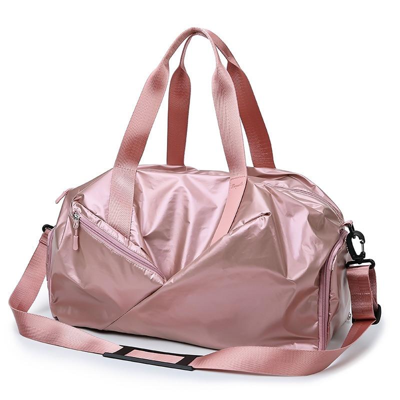 Online Celebrity Travel Bag Women's Short Trip Hand Gym Bag Wet And Dry Separation Men's Shoulder Cross-body Scholar Sports Trai