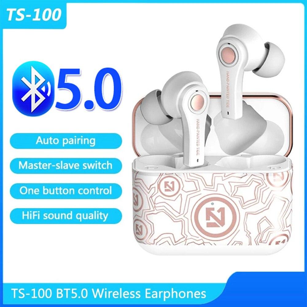 TS-100 bt5.0 controle de botão emparelhamento automático