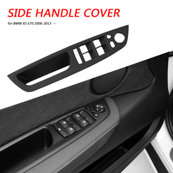 Front Left Window Switch Cover Outdoor Personal Car Driver Side Door Handle Parts Decoration for BMW X5 E70 X6 E71