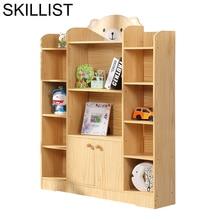 Dekorasyon De Maison Mobilya Boekenkast Bureau Meuble Kids Libreria wooden Retro Furniture Decoration Bookcase Book Case Rack