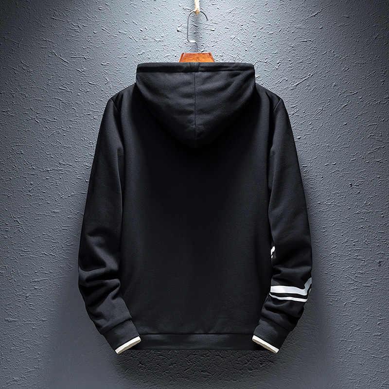 Hoodie Sweatshirt Herren Hip Hop Pullover Hoodies Streetwear Casual Mode Kleidung hoodie 2020 Tops Kleidung Schwarz Rot Weiß