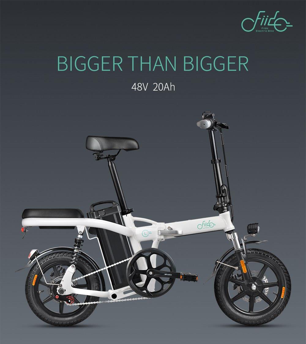 FIIDO L2 Falten Elektro-bike Drei Reiten Modi 14 Zoll Reifen 350W Motor 25 km/h Erwachsene Elektrische fahrrad