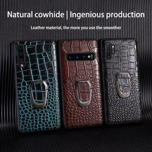 Image 5 - Кожаный чехол для телефона Samsung Galaxy S20 Ultra S10 S10e S8 S9 S7 edge Note 8 9 10 20 Plus A10 A20 A30 A40 A50 A70 A51 A71